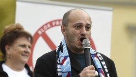 Šéf Bloku proti islámu Martin Konvička