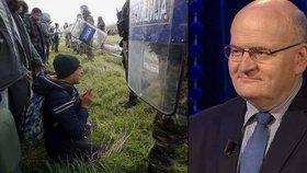 Ministr kultury Daniel Herman v pořadu Máte slovo mluvil o strachu z uprchlíků.