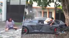 Bouračky dalších luxusních vozů