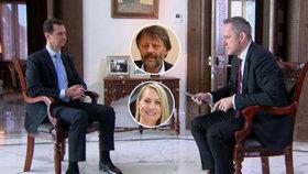 Rozhovor Bašára Asada s Michalem Kubalem a pozici syrského prezidenta zhodnotili pro Blesk.cz politolog a válečná reportérka.