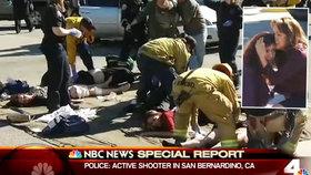 Nejméně 14 mrtvých si vyžádala střelba v centru pro postižené v Kalifornii.