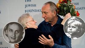 Polka zachránila židovského chlapce před nacisty: Po 68 letech se znovu potkali