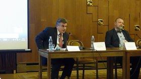 Docent Jan Eichler vystoupil na pražském semináři o Sýrii se zajímavým příspěvkem.