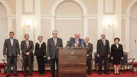 Prezident Miloš Zeman na návštěvě Ústavního soudu