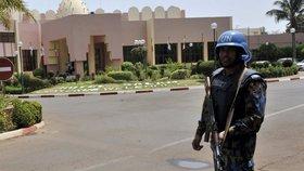 Voják OSN v Mali
