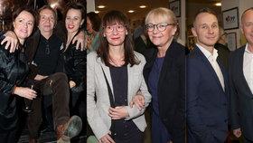 Na premiéře Poslední aristokratky se děly věci. Kateřina Macháčková vyvedla svou dceru, Voříšek přítele a Vladyka se rozdováděl.