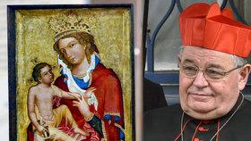 Vzácný středověký obraz Madona z Veveří patří církvi, a nikoliv státu. Soud potvrdil dřívější verdikt.
