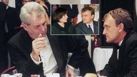 """Uhlobaron Koláček v knize """"Jak se těží miliardy?"""" tvrdí, že znal Zemana i jeho ženu."""