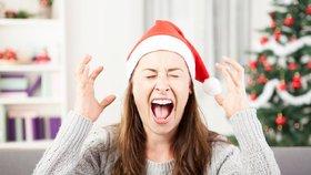 Nenechte se ovládnout vánočním šílenstvím.