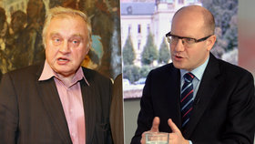 Premiér Sobotka promluvil o kauze Ransdorf.