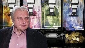 Miloslav Ransdorf pošilhával po penězích ve švýcarské bance.