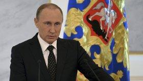 """Eliminátor"" Vladimir Putin."