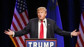 Donald Trump má pěkně ostrý jazyk.
