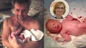 Českým politikům Petru Bendlovi a Kateřině Konečné se letos narodili synové.