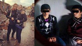 Češky v Iráku vyzpovídaly chlapce, kterého unesl Islámský stát (vpravo se svým kamarádem).
