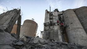 Zničené město Sindžár: Silo, kde se schovávali ozbrojenci ISIS před nálety