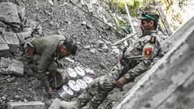 Zničené město Sindžár: Nachází se tam spousta nevybuchlých bomb