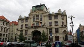 Magistrát na Mariánském náměstí v Praze