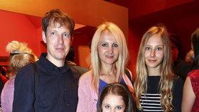 Jedna z posledních fotek kompletní rodiny Grossových