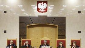 Polský Sejm schválil kontroverzní zákon o ústavním soudu (na snímku). Vládní kroky jsou tvrdě kritizovány opozicí.
