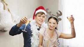 Omladina určitě na Silvestra alkohol nevynechá.