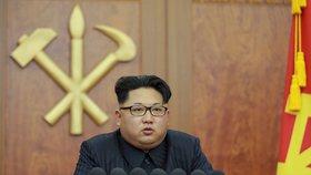 Novoroční projev severokorejského diktátora Kim Čong-una
