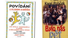 Mezi volnými tituly jsou nově k nalezení i oblíbené knihy Bylo nás pět či Povídání o pejskovi a kočičce.