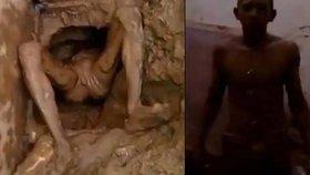 Vězeň se pokoušel utéct kanalizací. Ve splaškách se zasekl.