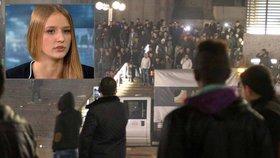 Osmnáctiletá Michelle popsala silvestrovské výtržnosti v Kolíně.