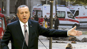 Turecký prezident Recep Tayyip Erdoğan poukázal na syrskou stopu.