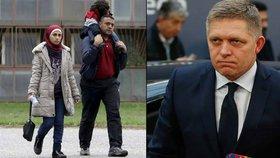 Slovenský premiér Robert Fico čelí trestnímu oznámení kvůli svým vyjádřením o uprchlících