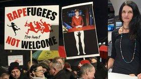 Reportérka Markéta Kutilová zareagovala na silvestrovské události v Kolíně a protesty proti nim.