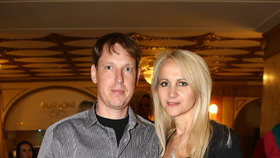 Stanislav Gross s manželkou