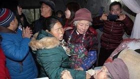 Zhang Buju se setkala se svou umírající matkou po 40 letech.