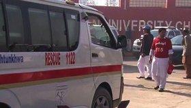 Ahsan Ikbál byl postřelen a zraněn na paži. Je mimo nebezpečí, ale byl převezen na kliniku v Láhauru. (ilustrační foto)