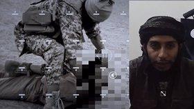 Nové video teroristů ukazuje uprchlého Abbaouda a popravy vězňů útočníky z Paříže