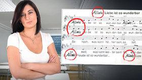 Učitelka text písně bez skrupulí přepsala (ilustrační foto).