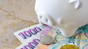 Příjmy vs. výdaje