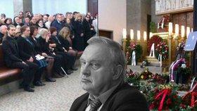 Na pohřbu Miloslava Ransdorfa padala tvrdá slova a obvinění. Vdova ostře kritizovala KSČM a sklidila potlesk.