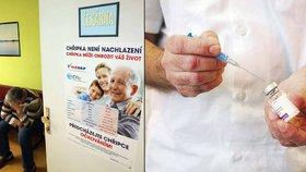 V Česku roste den ode dne počet výskytů chřipky. Ročně na ni zemře přibližně 2000 lidí.