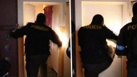 V bytě kriminálníka policisté nalezli plynovou pistoli, varnu pervitinu a suroviny na jeho výrobu, velkou částku peněz.