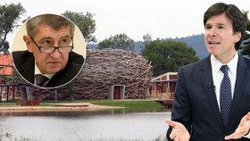 Andrew Schapiro navštívil Andreje Babiše v jeho Čapím hnízdě. Nevidí na tom nic špatného.