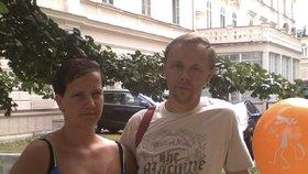 Jana Paurová na starším snímku s manželem