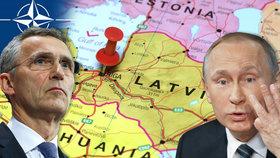 Rusko obsadí Pobaltí za tři dny: NATO nic nezmůže, varuje think-tank.