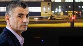 Pro Libanonce Alího Fajáda přiletělo do Prahy ve čtvrtek letadlo. Nejspíše výměnou za pět českých rukojmí a k velké nelibosti Američanů.