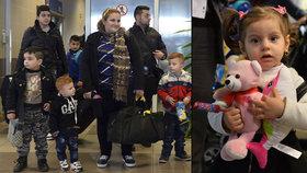 Druhá skupina uprchlíků dorazila do Česka