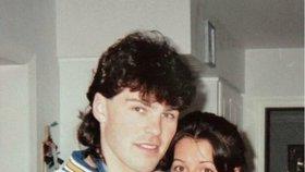 Jaromír Jágr s Ivou. Chodili spolu v letech 1996-1998.