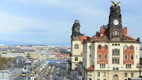 Taxikáři v pondělí blokovali osm hodin magistrálu v Praze.