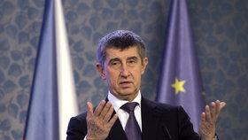 Vicepremiér Andrej Babiš