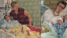 Veronika Tlustá z Jihlavy (33) porodila v tříměsíčním kómatu po automobilové nehodě zdravého chlapečka. Dostal jméno Daniel. O svou dceru během těhotenství ve Fakultní nemocnici Brno pečovala kromě týmů lékařů také její maminka Jaroslava Tlustá (58).